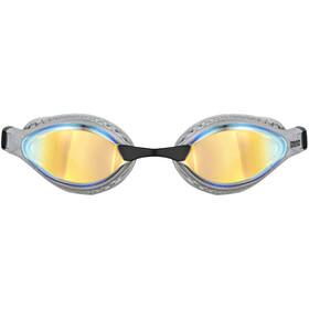 arena Airspeed Mirror Gafas Natación, negro/gris